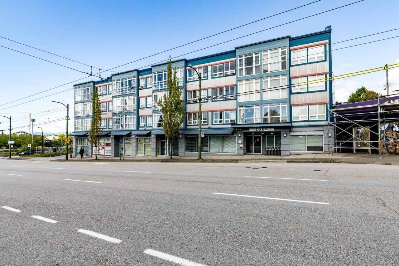 """Main Photo: PH7 3423 E HASTINGS Street in Vancouver: Hastings Sunrise Condo for sale in """"Zoey"""" (Vancouver East)  : MLS®# R2576156"""
