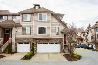 """Photo 1: 27 46778 HUDSON Road in Chilliwack: Promontory Townhouse for sale in """"Cobblestone Terrace"""" (Sardis)  : MLS®# R2442691"""