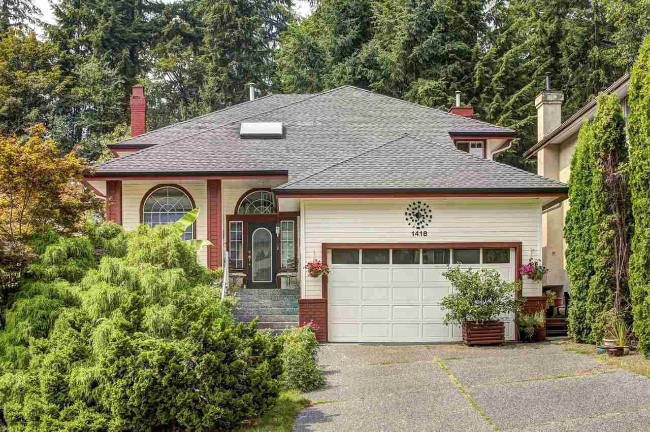 Main Photo: 1418 PURCELL Drive in Coquitlam: Westwood Plateau House for sale : MLS®# R2537092