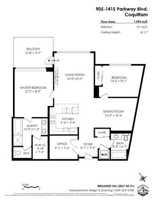 """Photo 36: 905 1415 PARKWAY Boulevard in Coquitlam: Westwood Plateau Condo for sale in """"CASCADE"""" : MLS®# R2588709"""