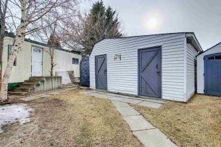 Photo 29: 8 QUARRY Crescent in Edmonton: Zone 42 Mobile for sale : MLS®# E4236380