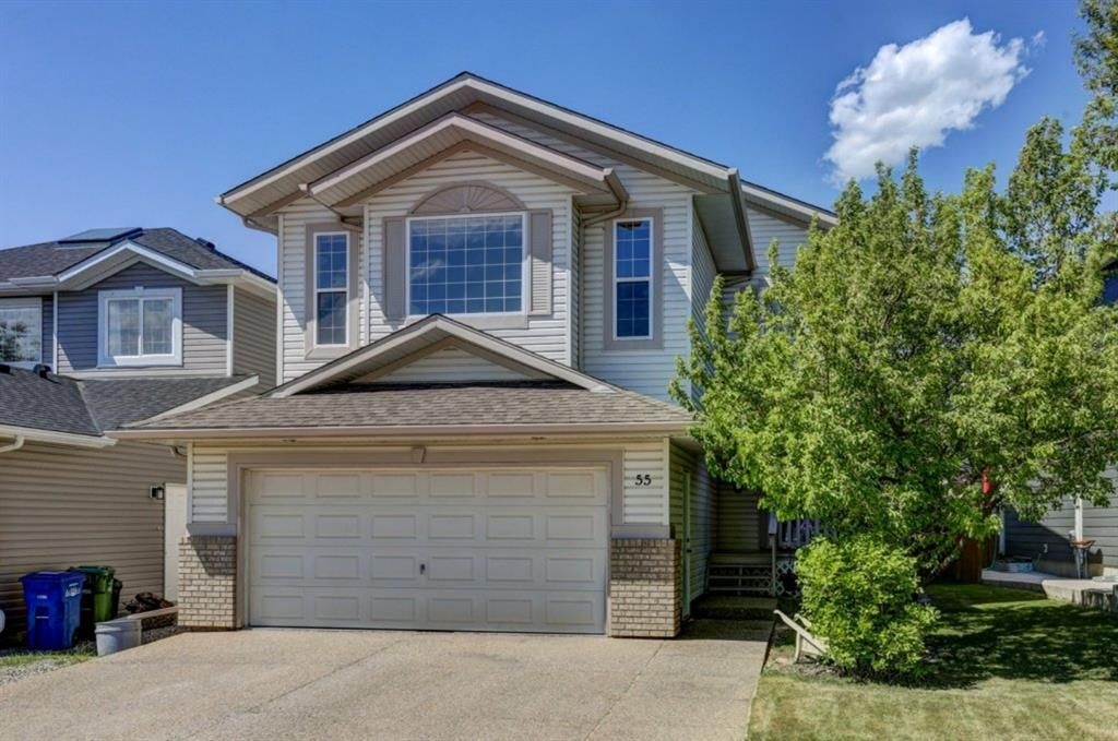 Main Photo: 55 Thornbird Way SE: Airdrie Detached for sale : MLS®# A1114077
