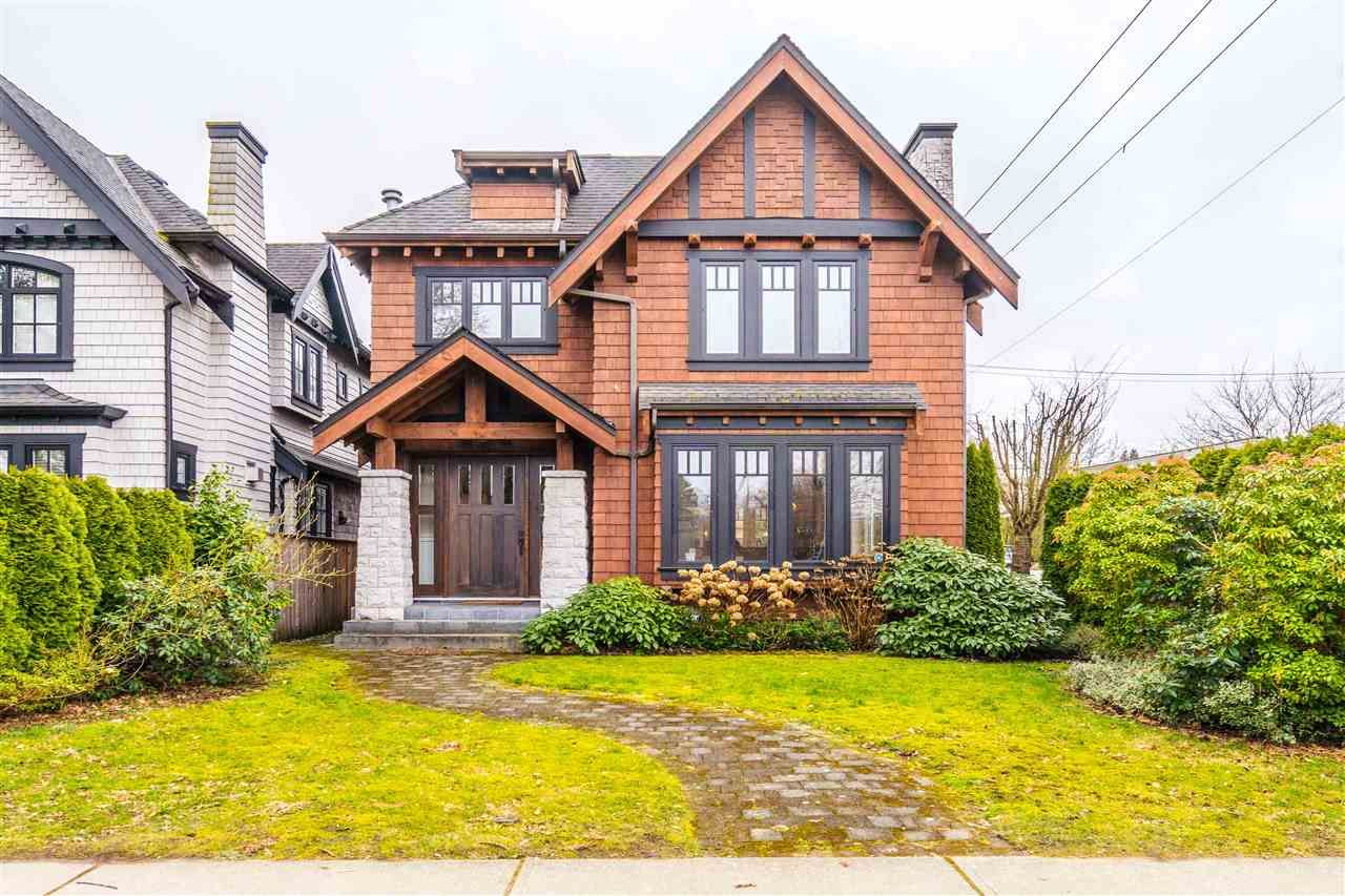 Main Photo: 4398 W 8TH Avenue in Vancouver: Point Grey House for sale (Vancouver West)  : MLS®# R2541035