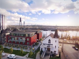 """Photo 1: 308 218 CARNARVON Street in New Westminster: Downtown NW Townhouse for sale in """"IRVING LIVING"""" : MLS®# R2209305"""