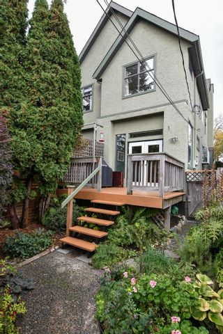 Photo 2: 2052 E 5TH Avenue in Vancouver: Grandview Woodland 1/2 Duplex for sale (Vancouver East)  : MLS®# R2625762