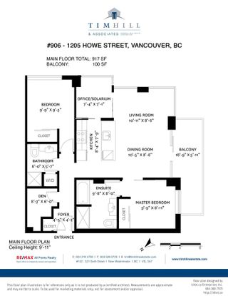 """Photo 23: 906 1205 HOWE Street in Vancouver: Downtown VW Condo for sale in """"The Alto"""" (Vancouver West)  : MLS®# R2571567"""