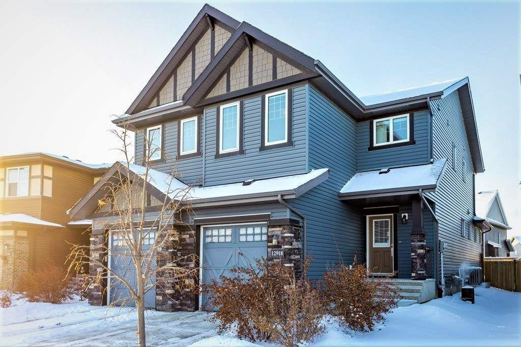 Main Photo: 12918 205 Street in Edmonton: Zone 59 House Half Duplex for sale : MLS®# E4228359