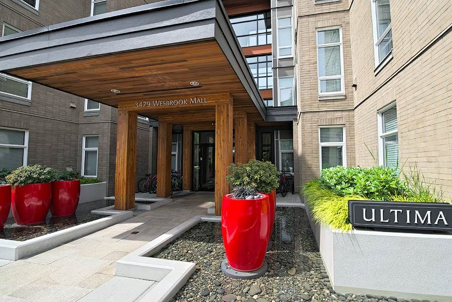 """Main Photo: 217 3479 WESBROOK Mall in Vancouver: University VW Condo for sale in """"ULTIMA"""" (Vancouver West)  : MLS®# R2066045"""