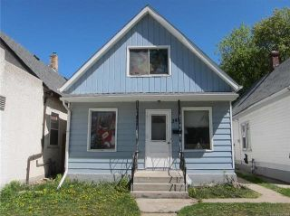 Photo 1: 345 Aberdeen Avenue in Winnipeg: Residential for sale (4A)  : MLS®# 1813635