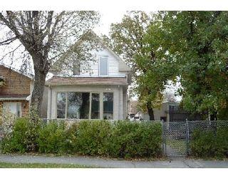 Photo 1: 375 PARKVIEW ST in WINNIPEG: St James Residential for sale (West Winnipeg)  : MLS®# 2919832