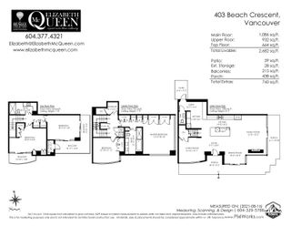 """Photo 28: 403 BEACH Crescent in Vancouver: Yaletown Townhouse for sale in """"WATERFORD"""" (Vancouver West)  : MLS®# R2611200"""