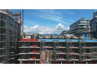 Photo 1: # 607 63 W 2ND AV in Vancouver: False Creek Condo for sale (Vancouver West)  : MLS®# V1129937