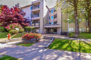 """Photo 1: 407 10560 154 Street in Surrey: Guildford Condo for sale in """"CREEKSIDE 1"""" (North Surrey)  : MLS®# R2369078"""
