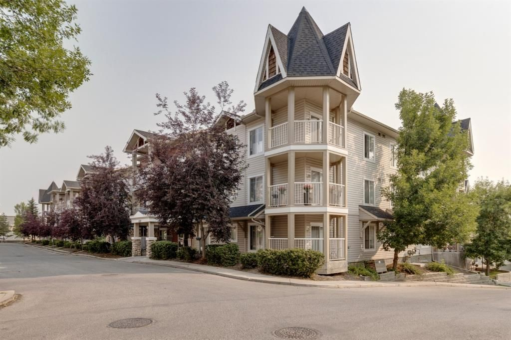 Main Photo: 4201 70 Panamount Drive NW in Calgary: Panorama Hills Apartment for sale : MLS®# A1134656