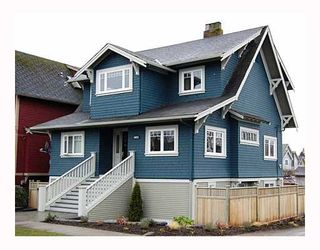 Photo 1: 3655 ASH Street in Vancouver: Cambie House for sale (Vancouver West)  : MLS®# V690627