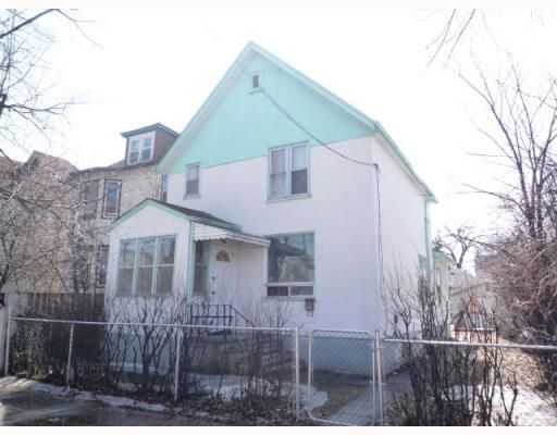 Main Photo: 346 BURROWS Avenue in WINNIPEG: North End Residential for sale (North West Winnipeg)  : MLS®# 2905859