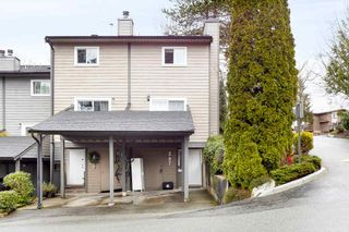 """Photo 1: 287 BALMORAL Place in Port Moody: North Shore Pt Moody Townhouse for sale in """"BALMORAL PLACE"""" : MLS®# R2538188"""