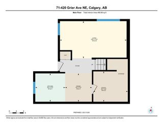 Photo 28: 71 420 Grier Avenue NE in Calgary: Greenview Row/Townhouse for sale : MLS®# A1153174