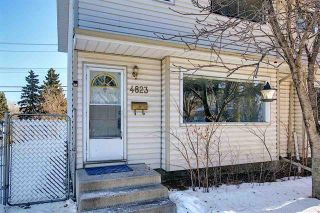 Main Photo: 4823 106 Street in Edmonton: Zone 15 House Half Duplex for sale : MLS®# E4226496