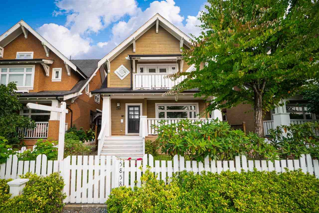 Main Photo: 5858 WALES STREET in : Killarney VE 1/2 Duplex for sale : MLS®# R2508796