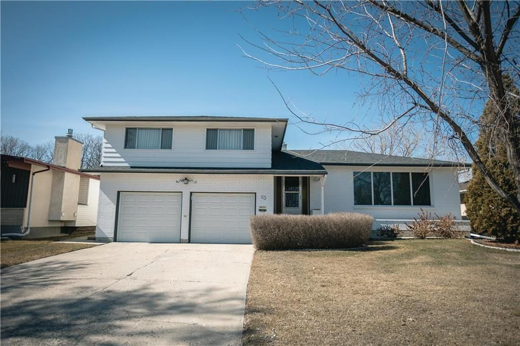 Main Photo: 63 Dickens Drive in Winnipeg: Residential for sale (5G)  : MLS®# 202107088