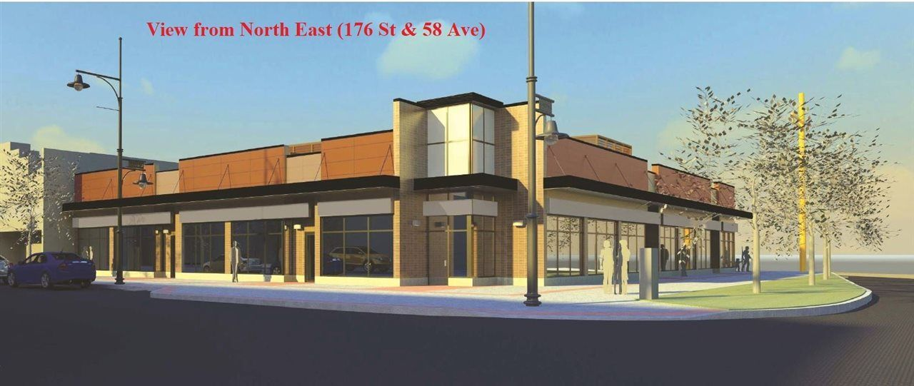 Main Photo: 1 5795 176 Street in Surrey: Cloverdale BC Retail for lease (Cloverdale)  : MLS®# C8022781