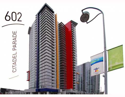 """Main Photo: 1108 602 CITADEL PARADE BB in Vancouver: Downtown VW Condo for sale in """"SPECTRUM4"""" (Vancouver West)  : MLS®# V754409"""