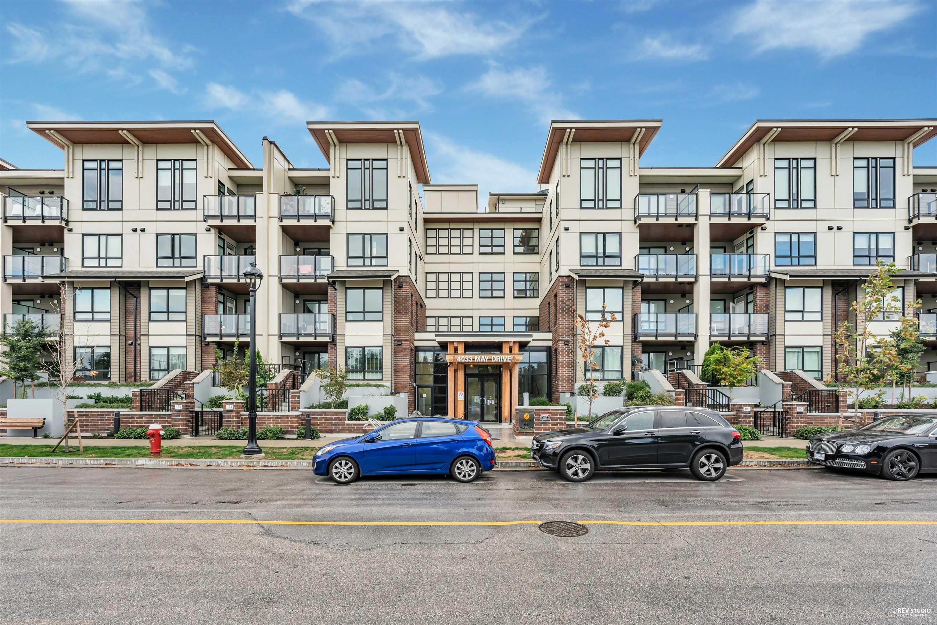 Main Photo: 322 4033 MAY Drive in Richmond: West Cambie Condo for sale : MLS®# R2619263