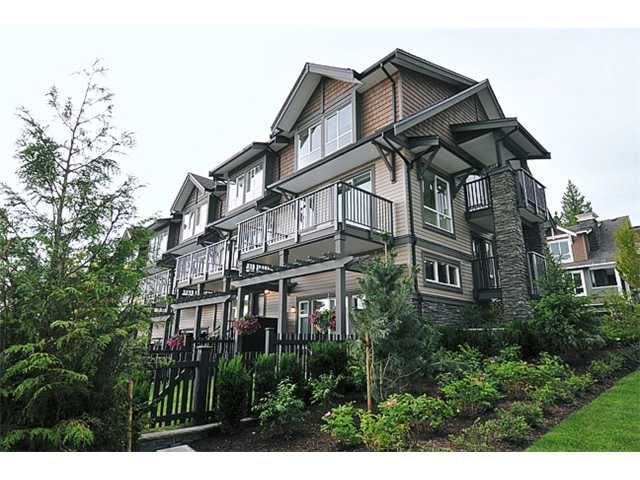 """Main Photo: 149 1460 SOUTHVIEW Street in Coquitlam: Burke Mountain Townhouse for sale in """"CEDAR CREEK"""" : MLS®# V900858"""
