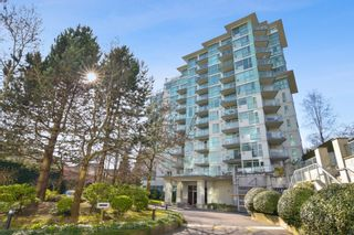 """Photo 1: 710 2733 CHANDLERY Place in Vancouver: South Marine Condo for sale in """"River Dance"""" (Vancouver East)  : MLS®# R2553020"""