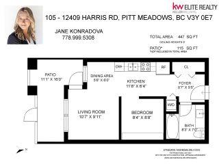 Photo 24: 105 12409 HARRIS Road in Pitt Meadows: Mid Meadows Condo for sale : MLS®# R2585014