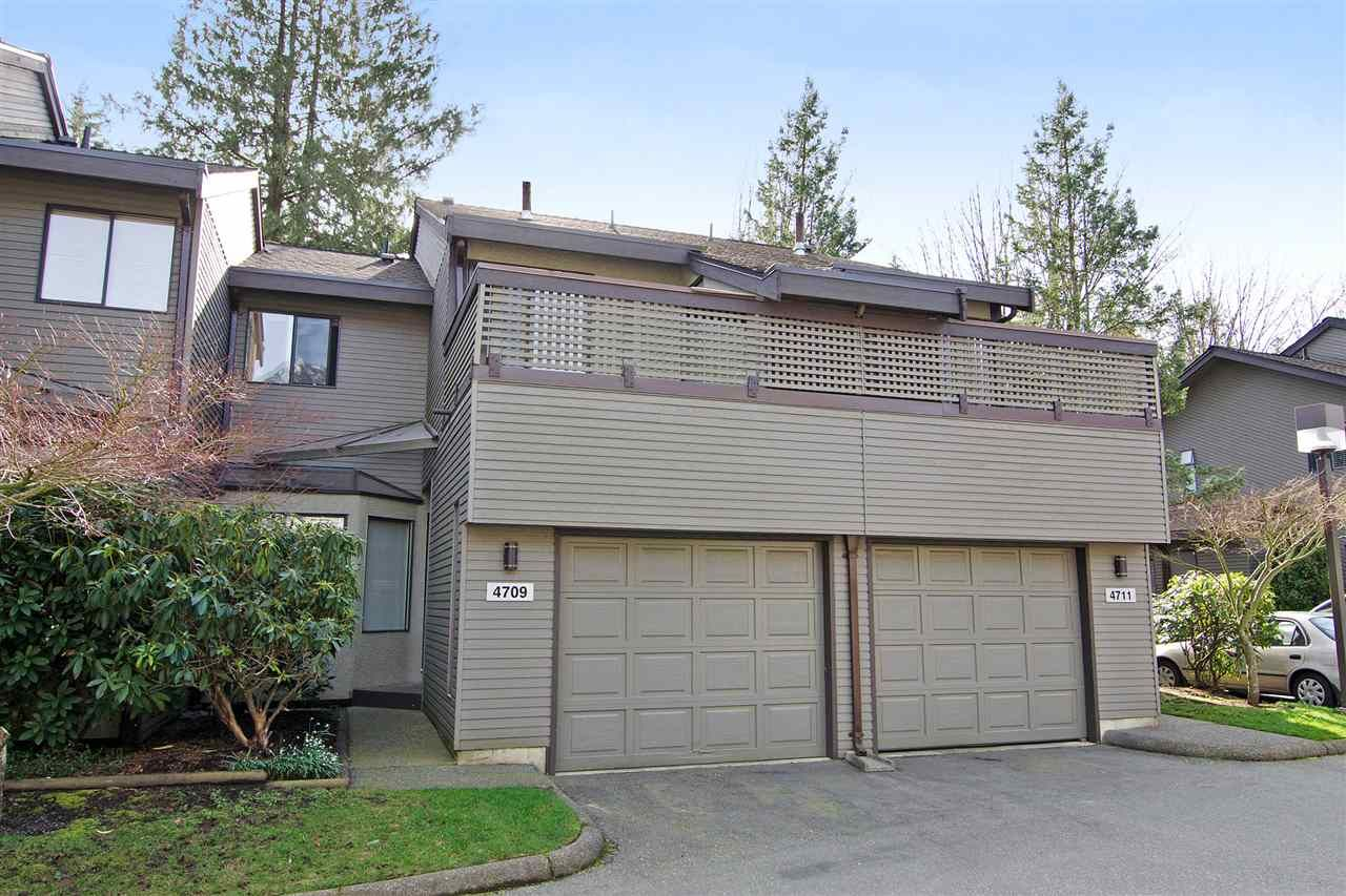 "Photo 1: Photos: 4709 GLENWOOD Avenue in North Vancouver: Canyon Heights NV Townhouse for sale in ""Montroyal Village"" : MLS®# R2039436"