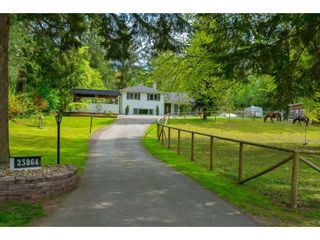 Photo 1: 23864 64 Avenue in Langley: Salmon River House for sale : MLS®# R2356393