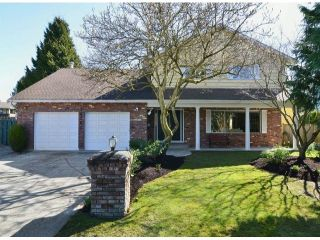 Photo 1: 14764 16A AVENUE in South Surrey: Sunnyside Park Surrey House for sale ()  : MLS®# F1306867