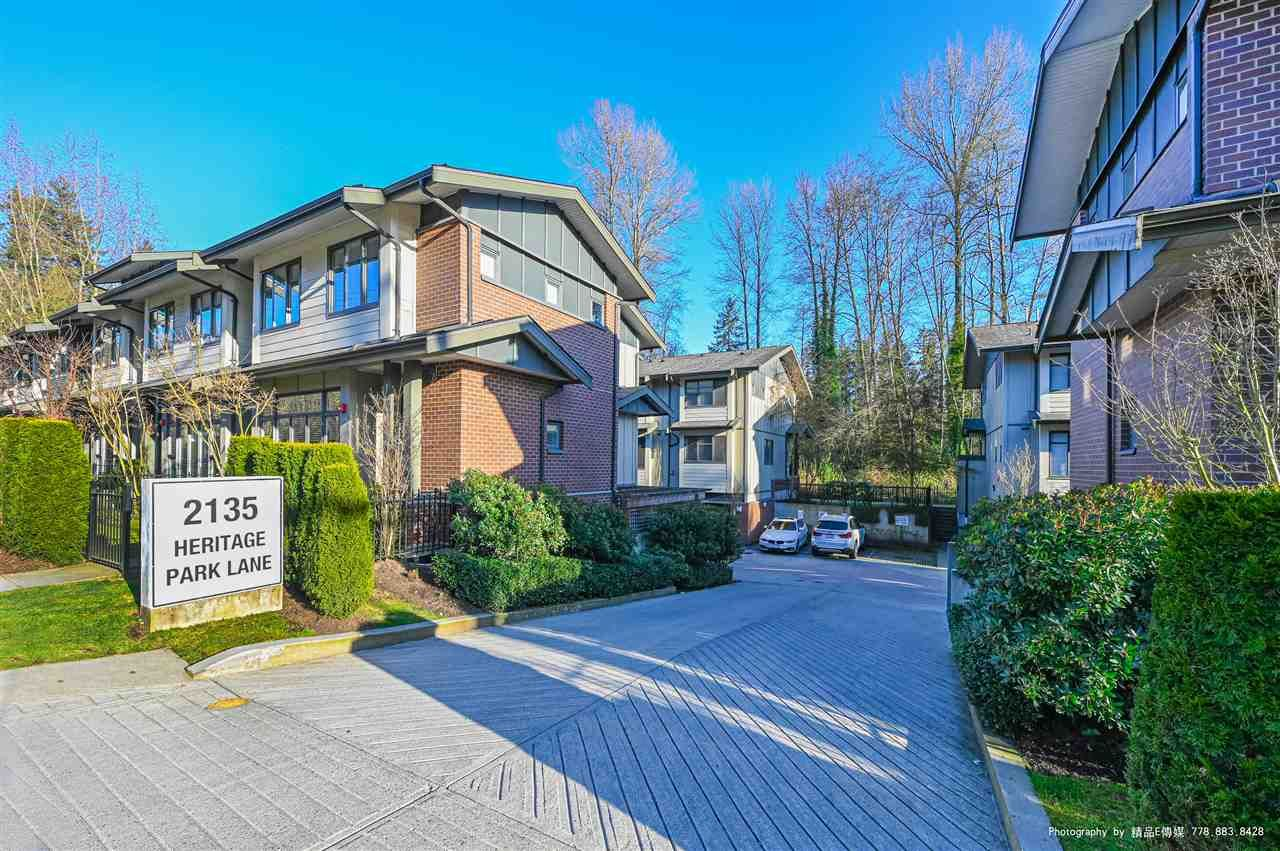 """Main Photo: 308 2135 HERITAGE PARK Lane in North Vancouver: Seymour NV Townhouse for sale in """"Loden Green"""" : MLS®# R2563569"""