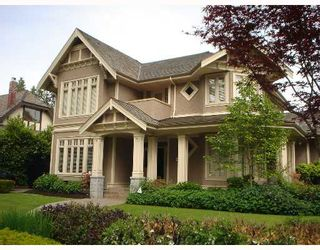 Photo 1: 6038 ADERA Street in Vancouver: South Granville House for sale (Vancouver West)  : MLS®# V654238