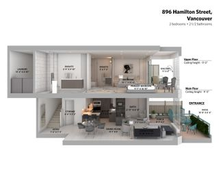 Photo 13: 896 HAMILTON Street in Vancouver: Downtown VW Townhouse for sale (Vancouver West)  : MLS®# R2621491