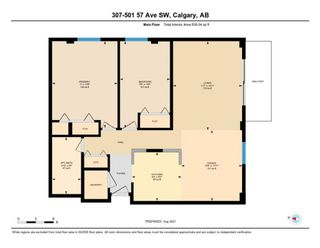 Photo 23: 307 501 57 Avenue SW in Calgary: Windsor Park Apartment for sale : MLS®# A1140923