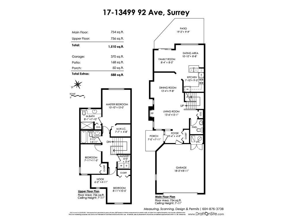 """Photo 20: Photos: 17 13499 92 Avenue in Surrey: Queen Mary Park Surrey Townhouse for sale in """"CHATHAM LANE"""" : MLS®# R2403467"""