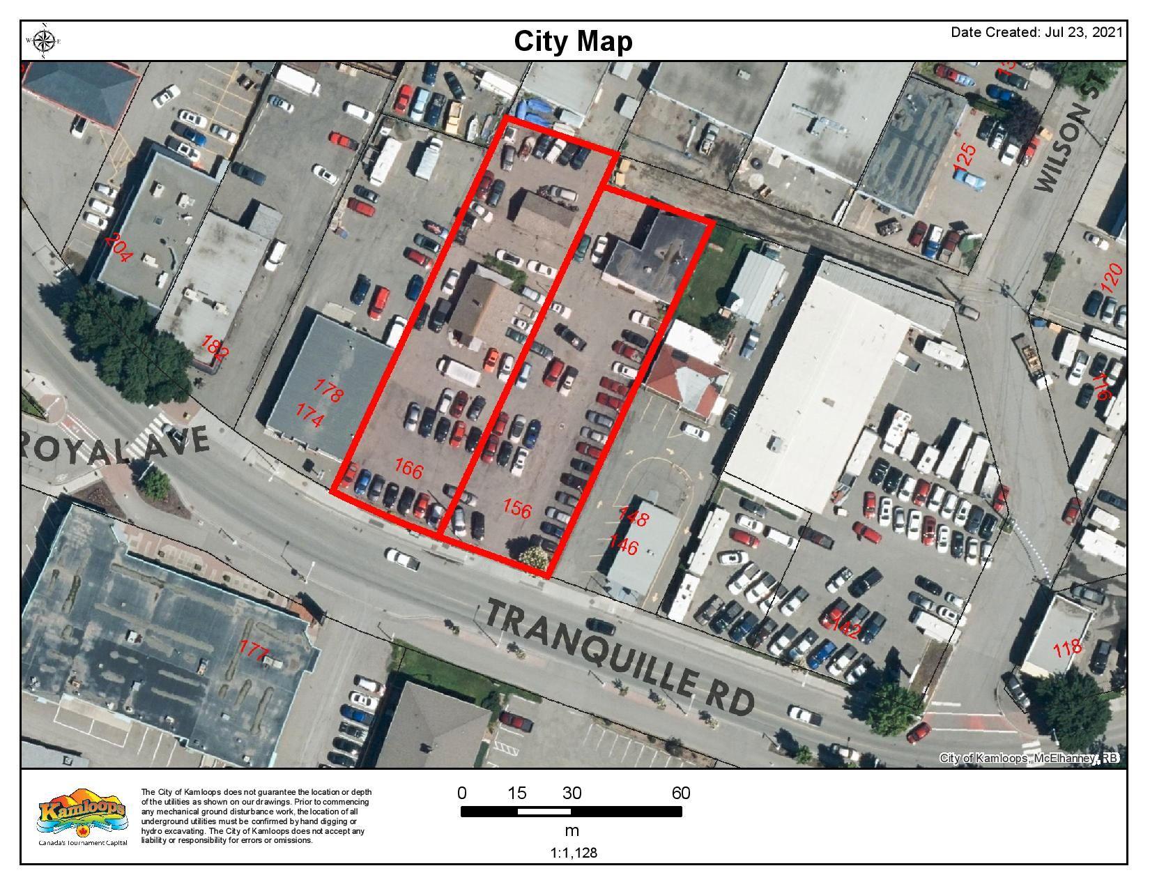 Main Photo: 156/166 TRANQUILLE ROAD in KAMLOOPS: NORTH KAMLOOPS Commercial for sale : MLS®# 163345