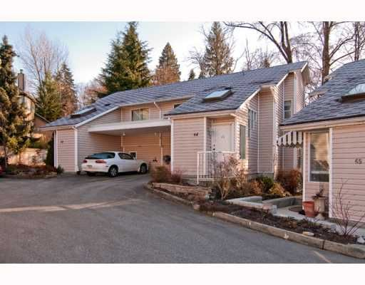 """Main Photo: 64 1235 LASALLE Place in Coquitlam: Canyon Springs Townhouse for sale in """"CREEKSIDE PLACE"""" : MLS®# V756189"""