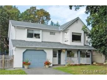 Main Photo:  in VICTORIA: SW Strawberry Vale House for sale (Saanich West)  : MLS®# 484579
