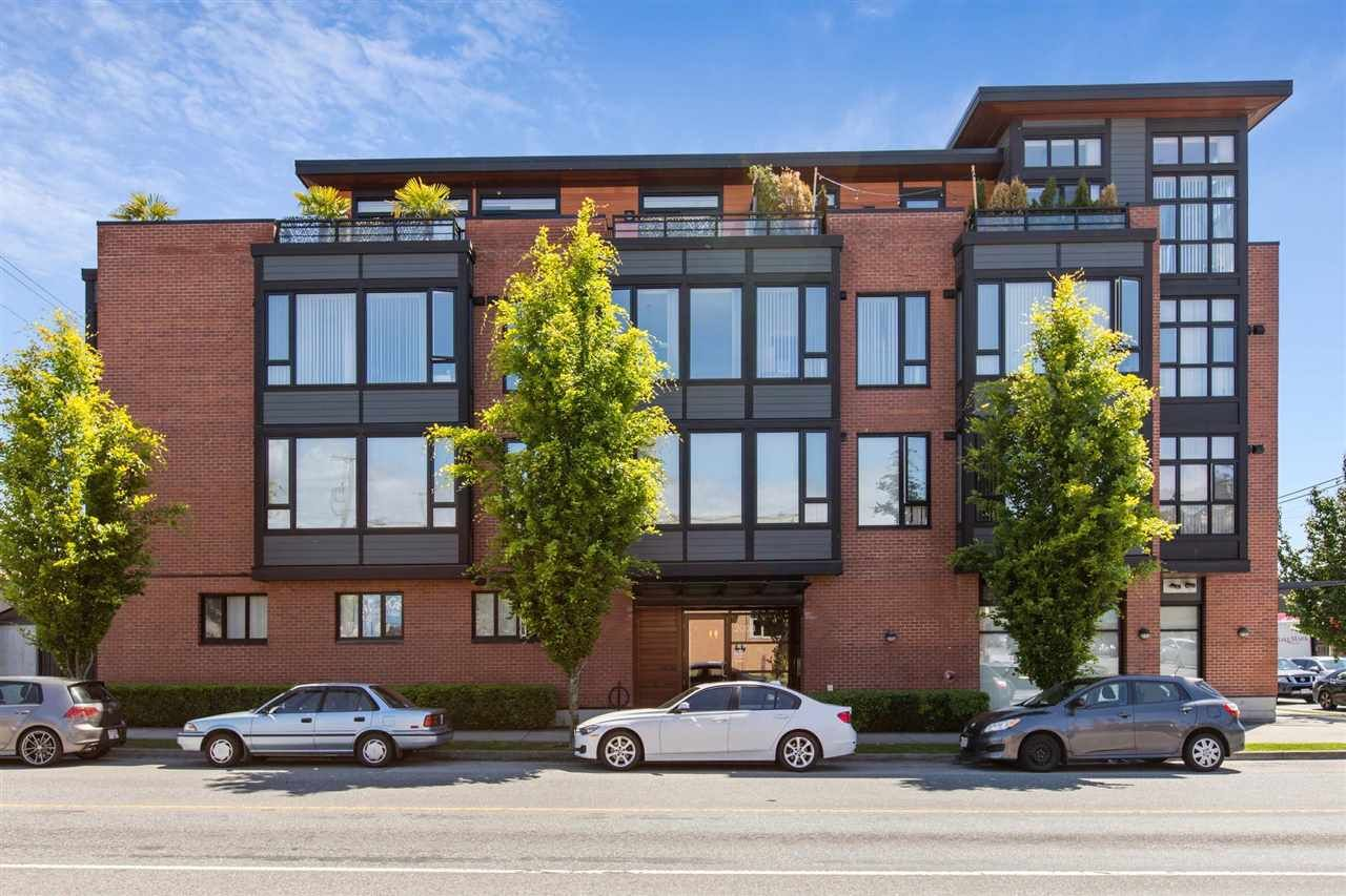 """Main Photo: 309 2008 E 54TH Avenue in Vancouver: Fraserview VE Condo for sale in """"CEDAR 54"""" (Vancouver East)  : MLS®# R2587612"""