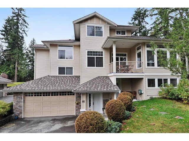Main Photo: 8 MOSSOM CREEK Drive in Port Moody: North Shore Pt Moody 1/2 Duplex for sale : MLS®# V1104337