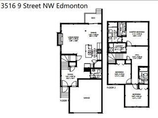 Photo 34: 3516 9 Street in Edmonton: Zone 30 House Half Duplex for sale : MLS®# E4225059