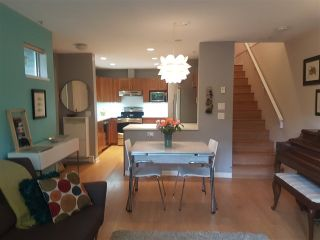 """Photo 1: 6 3140 W 4TH Avenue in Vancouver: Kitsilano Townhouse for sale in """"AVANTI"""" (Vancouver West)  : MLS®# R2273597"""