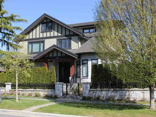 Photo 1: 7288 ANGUS DRIVE in Vancouver: South Granville House for sale (Vancouver West)  : MLS®# R2022508