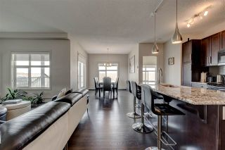 Main Photo: 419 5510 SCHONSEE Drive in Edmonton: Zone 28 Condo for sale : MLS®# E4225543