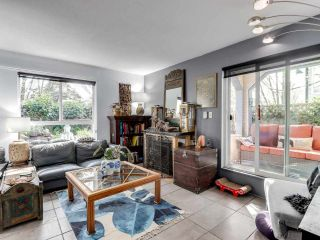 """Photo 3: 105 1641 WOODLAND Drive in Vancouver: Grandview Woodland Condo for sale in """"Woodland Court"""" (Vancouver East)  : MLS®# R2564541"""