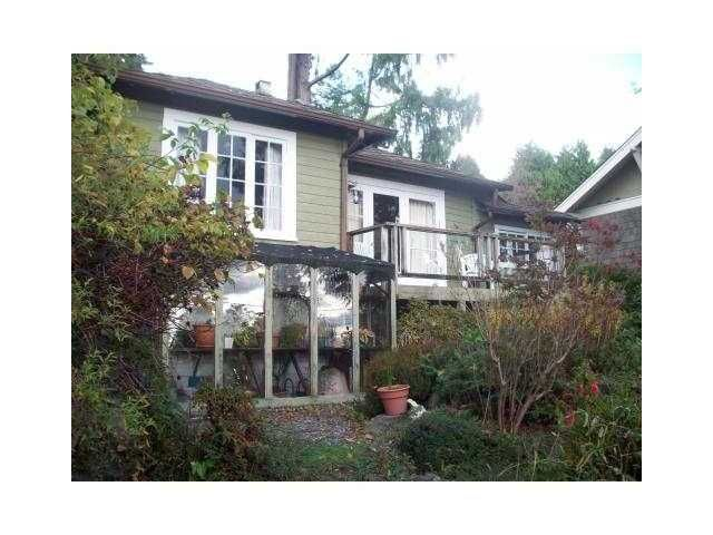Main Photo: 3336 MARINE DRIVE in West Vancouver: West Bay House for sale : MLS®# V893934